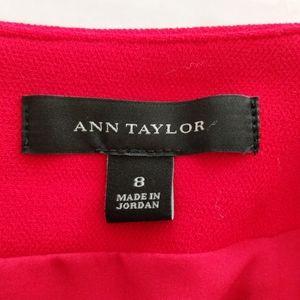 Ann Taylor Skirts - Ann Taylor Red Pencil Skirt Size 8